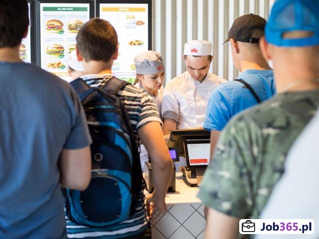 Kierownik zmiany w Restauracji MAX Premium Burgers - Babice